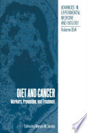 Diet and Cancer Book