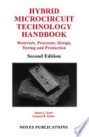 Hybrid Microcircuit Technology Handbook, 2nd Edition