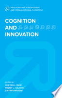 Cognition and Innovation Book