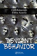 Deviant Behavior Pdf/ePub eBook