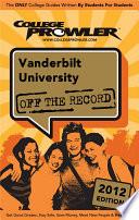 Vanderbilt University 2012