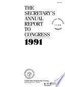 The Secretary S Annual Report To Congress