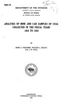 Coal mine Fatalities in the United States 1919