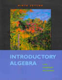 Introductory Algebra Plus MyMathLab Student Access Kit