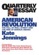 Quarterly Essay 32 American Revolution