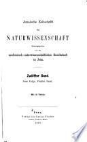 Jenaische Zeitschrift Für Naturwissenschaft