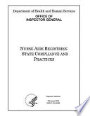 Nurse Aide Registries