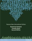 Numerical Analysis: Pearson New International Edition