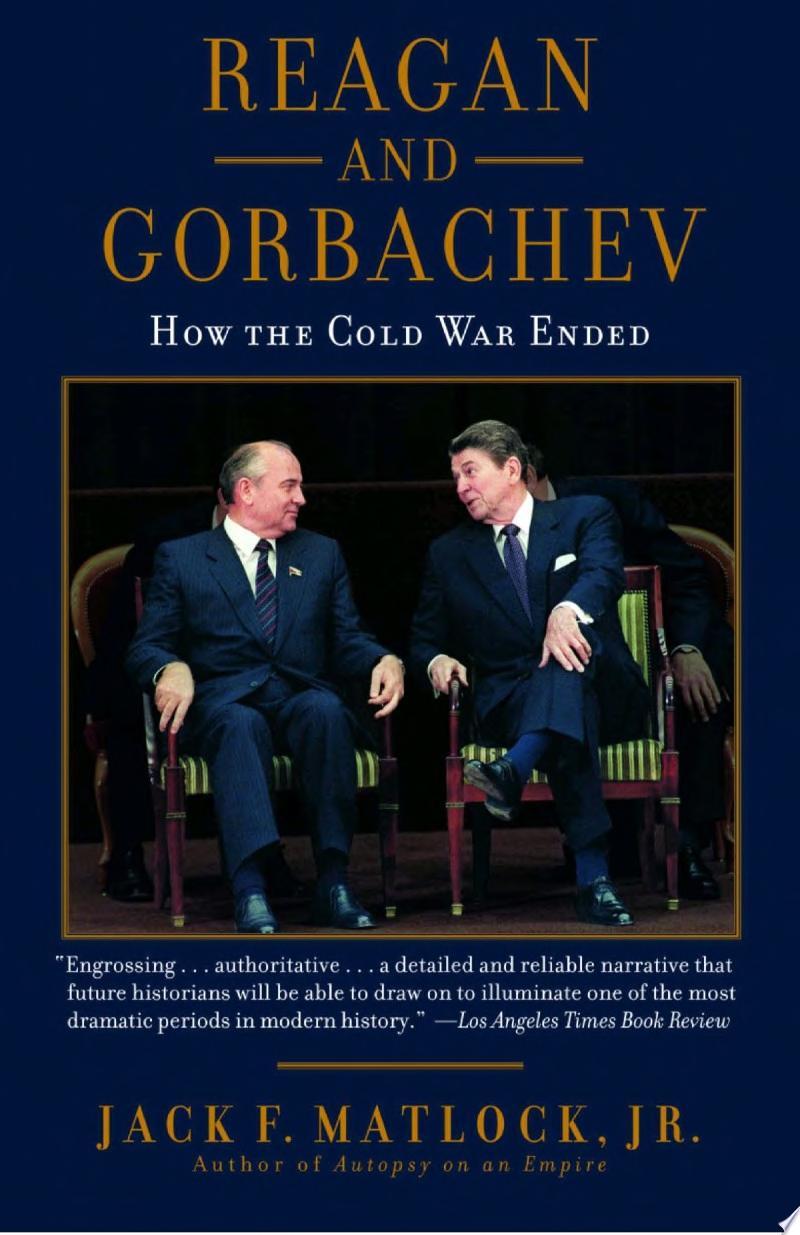 Reagan And Gorbachev banner backdrop