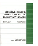 Effective Reading Instruction in the Elementary Grades