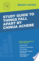 Study Guide to Things Fall Apart by Chinua Achebe