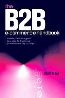 The B2B E-commerce Handbook