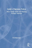 India S Pakistan Policy