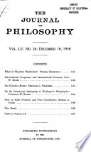 The Journal of Philosophy
