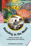 Standing in the Need