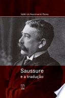 Book cover for Saussure e a tradução