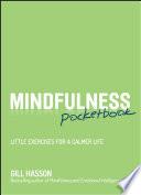 Mindfulness Pocketbook Book PDF