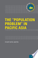 The  Population Problem  in Pacific Asia