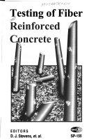 Testing Of Fiber Reinforced Concrete