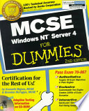 MCSE Windows NT? Server 4 For Dummies?