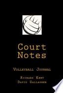 Court Notes Volleyball Journal