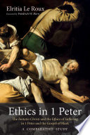 Ethics in 1 Peter Book PDF