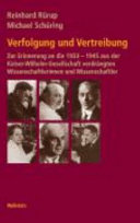 Geschichte der Kaiser-Wilhelm-Gesellschaft im Nationalsozialismus