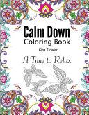 Calm Down Coloring Book