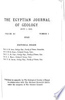 Egyptian Journal of Geology