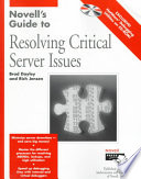 Novell's Guide to Resolving Critical Server Issues