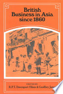 British Business In Asia Since 1860 Book PDF