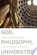 God  Philosophy  Universities