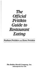 Pdf The Official Pritikin Guide to Restaurant Eating
