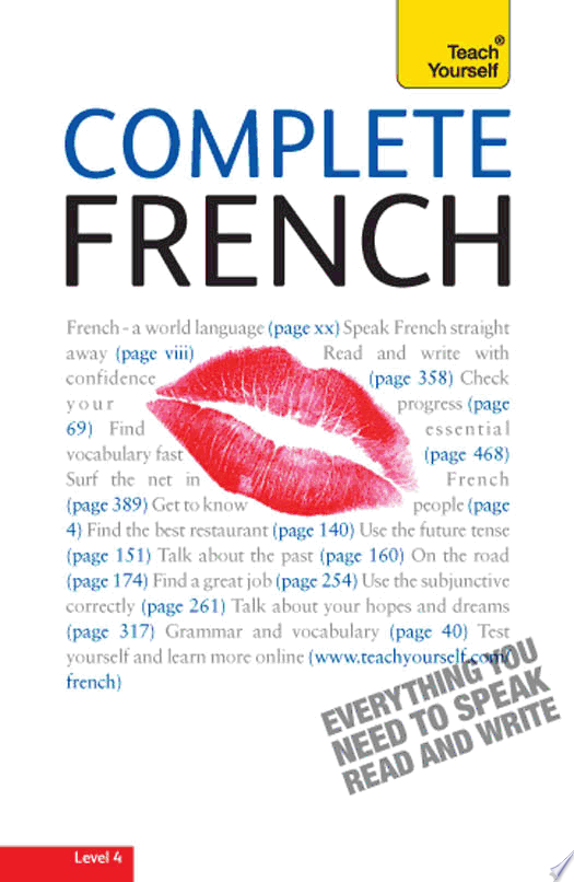 Complete French  A Teach Yourself Guide