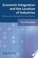 Economic Integration And The Location Of Industries