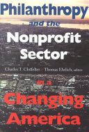 Philanthropy and the Nonprofit Sector in a Changing America
