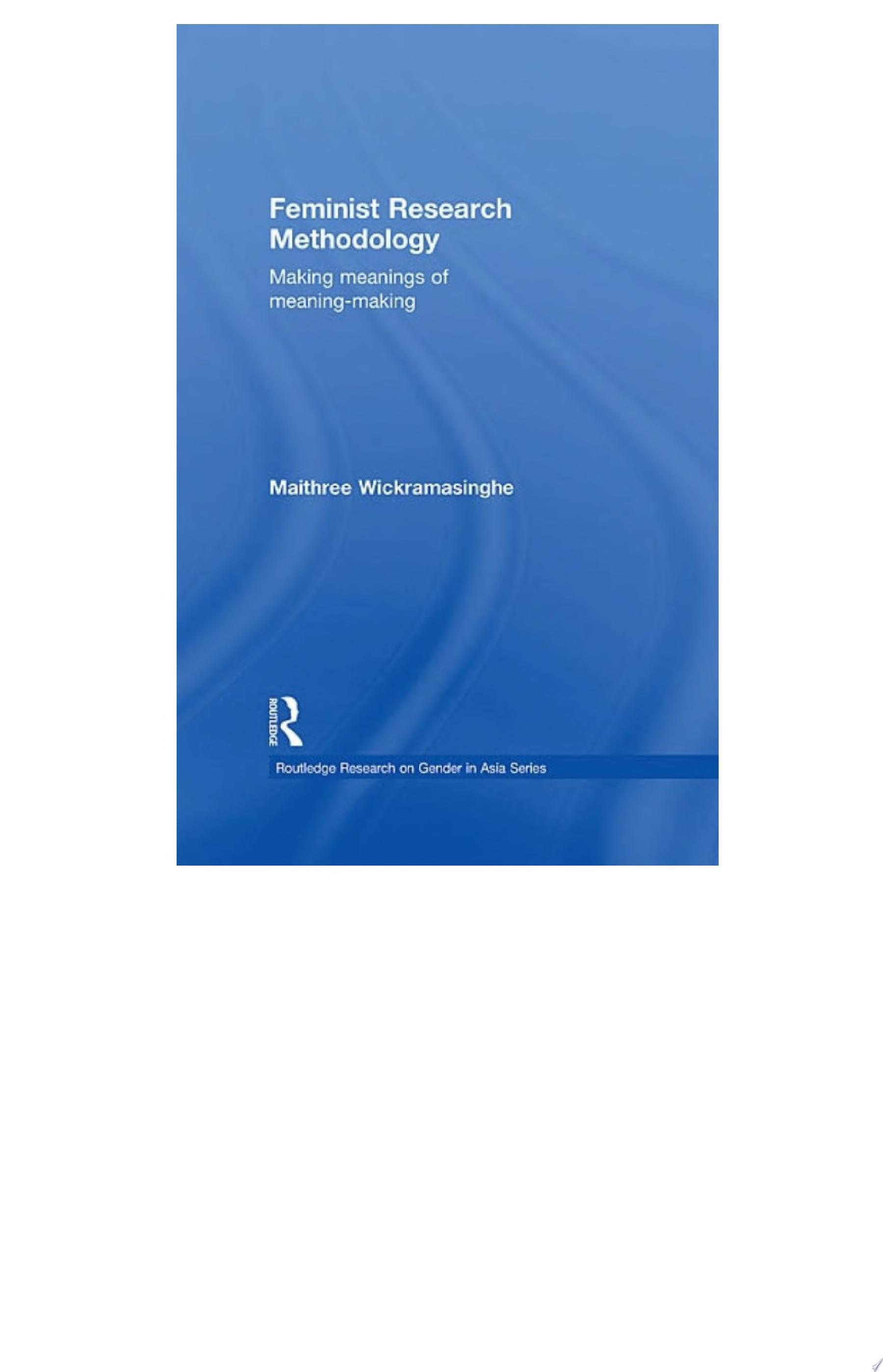 Feminist Research Methodology
