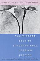 The Vintage Book of International Lesbian Fiction Pdf/ePub eBook