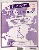 Summary of Corrections