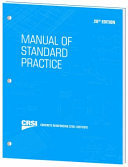 Manual of Standard Practice