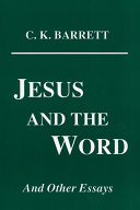 Jesus and the Word