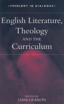 English Literature  Theology and the Curriculum