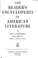 The Reader s Encyclopedia of American Literature