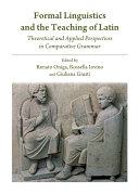 Formal Linguistics and the Teaching of Latin