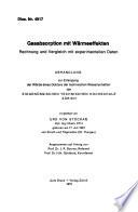 Gasabsorption mit warmeeffekten rechnung und vergleich mit expe...