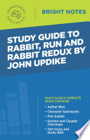 Study Guide To Rabbit Run And Rabbit Redux By John Updike