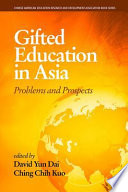 Gifted Education in Asia Book PDF