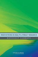 Innovations in Health Literacy Research