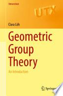 Geometric Group Theory