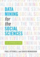 Data Mining for the Social Sciences Pdf/ePub eBook